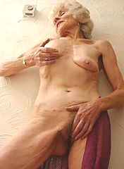 Saggy skin of an exceptional grandma
